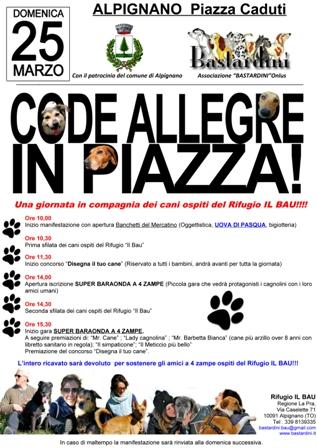 Code Allegre in Piazza – Alpignano Torino