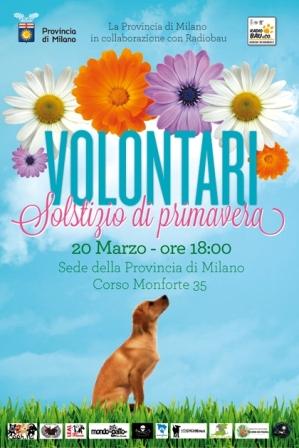 Volontari – Solstizio di Primavera.