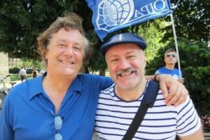 Enzo Jachetti, in Spiaggia a Milano per dire NO all'abbandono!