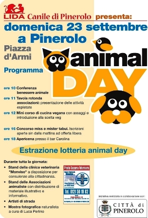 3a EDIZIONE ANIMAL DAY – PINEROLO (TO)