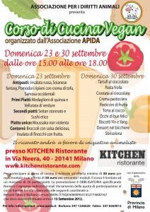 Corso di Cucina Vegan, firmato APIDA