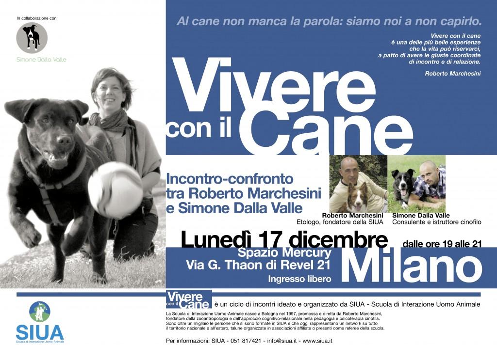 VIVERE CON IL CANE incontro con Roberto Marchesini e Simone Dalla Valle