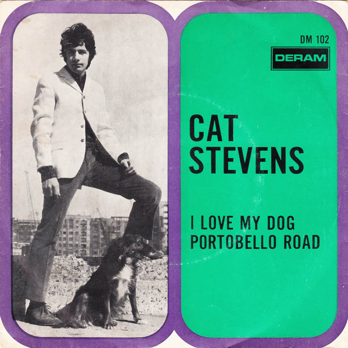 Copertine bestiali pets on the covers cat stevens i