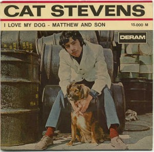 Copertine Bestiali (Pets on the Covers) – Cat Stevens – I Love My Dog