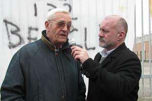 Giorgio Tremante; Rappresentante dei Danneggiati dai Vaccini al Presidio ATUIT a Verona