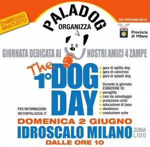 1° DOG DAY all'Idroscalo di Milano