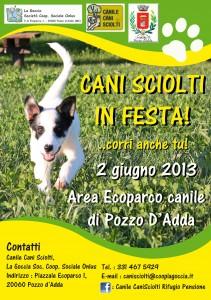 """""""Cani Sciolti in festa"""" a Pozzo D'Adda,  arriva alla Sesta Edizione"""