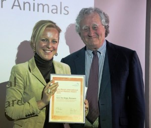 SAVE THE DOGS RICEVE IL MARSH INTERNATIONAL ANIMAL WELFARE AWARD