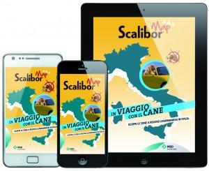 IN VACANZA CON ME e serenamente con la SCALIBOR MAP App