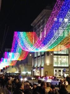A Roma la Stella Cometa ha la coda Rainbow