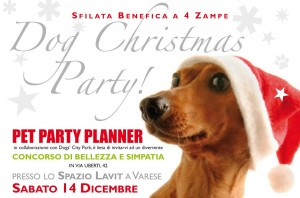 DOG CHRISTMAS PARTY a VARESE per SOS Pour un Monde Meilleur