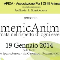 DomenicAnimale, 19 Gennaio a Rozzano