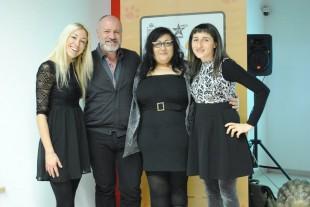da destra; Isabella Dalla Vecchia, Rosa Chiara Valvo, Davide Cavalieri e Ferica Farini