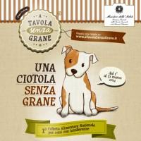A Tavola Senza Grane – La Prima colletta alimentare per cani con intolleranze