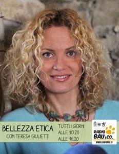 Teresa Giulietti con Bellezza Etica, porta la Primavera sulla nostra pelle!