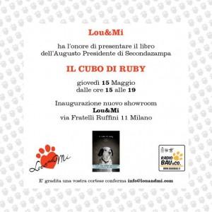 RUBY; esce dal cubo ed arriva a Milano!
