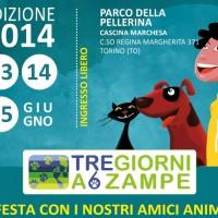 A Torino: TRE GIORNI A 6 ZAMPE – 13-14-15 Giugno  Parco della Pellerina