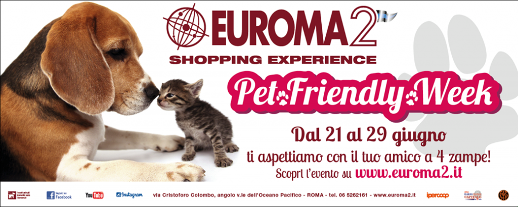 "PET FRIENDLY WEEK; IL 28 GIUGNO SFILATA ""MISS E MISTER BAU BAU"""