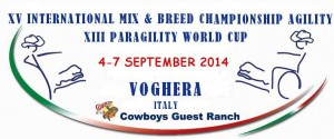 IMCA (International Mix and Breed Championship) e  PAWC (ParAgility World Cup) a VOGHERA