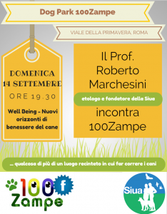 La Rinascita ha 100 Zampe e Roberto Marchesini dalla sua parte!