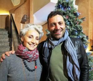 Silvia Amodio e Roberto Di Paola