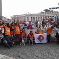 Il Papa benedice gli animali in piazza a Roma!