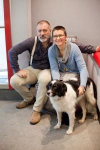 Claudia Barrel e Luna ospiti di Radiobau