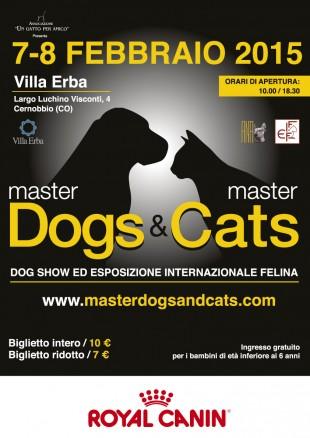 Master Dogs e Master Cats: a Cernobbio l'evento novità a 4 zampe