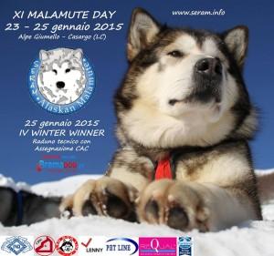 XI° MALAMUTE DAY  23-24-25 Gennaio 2015