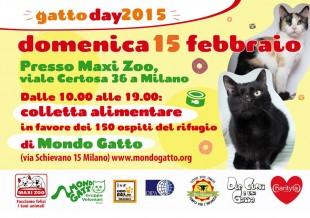 GATTODAY2015 VS. MONDO GATTO Onlus