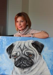 DigeA/Antonella Di Gennaro; la pittrice degli angeli senza malizia e cattiveria