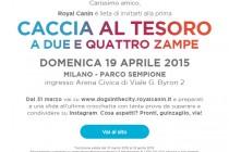 Arriva a Milano DOGS IN THE CITY di Royal Canin: La prima caccia al tesoro su Instagram a 2 e a 4 zampe