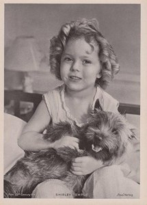 Toto e Shirley Temple