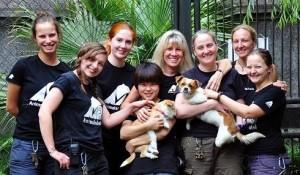 Animals Asia con Si Bao e Muddie