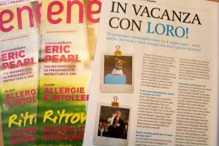 ENERGIE – la rivista della bellezza Interiore e' in Edicola con il numero di Giugno