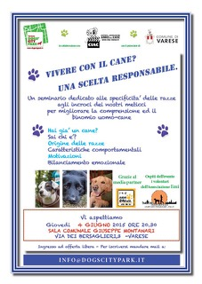 Locandina vivere con il cane ok radio bau + emi jpg