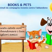 #BOOKS&PETS; libri ed animali da compagnia contro l'abbandono!