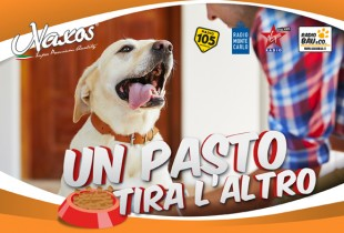 UN PASTO TIRA L'ALTRO… per tutta L'Estate aiuta un animale sfortunato con Adragna Pet Food