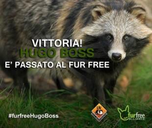 HUGO BOSS diventa Fur Free… Parliamone un attimo per cortesia!