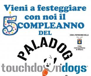 5° Compleanno al PALADOG Milano