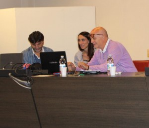 Silvio Tursi, Elena Sposito e Lino Cavedon