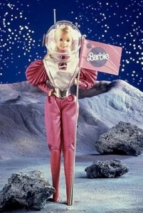 barbie astronauta