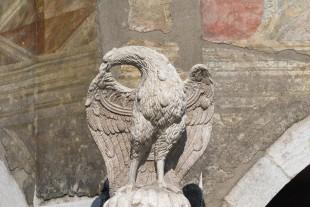 La Fontana dell'Aquila a Trento