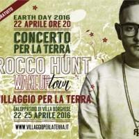 Rocco Hunt suona la sveglia per la Terra