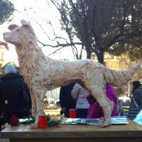 Una statua per Angelo