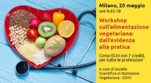Workshop sull'alimentazione vegetariana a Milano
