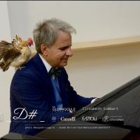 Nina la Gallina ed il Maestro Luca Schieppati