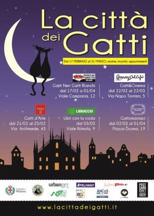 La CITTA' dei GATTI – da Milano fino a Roma