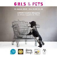 GIRLS & PETS a MILANO, il primo giorno di Primavera