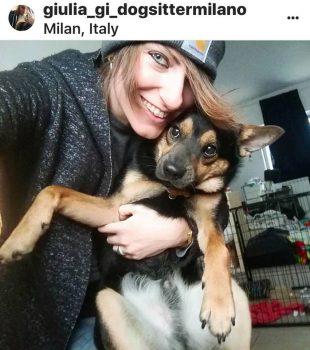 Tutti a spasso con Giulia la Dog Sitter